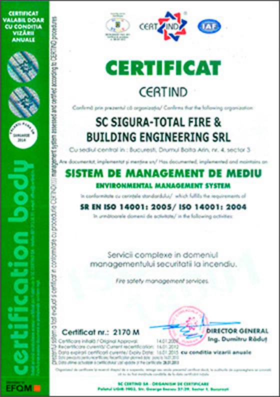 SR EN ISO 14001:2005