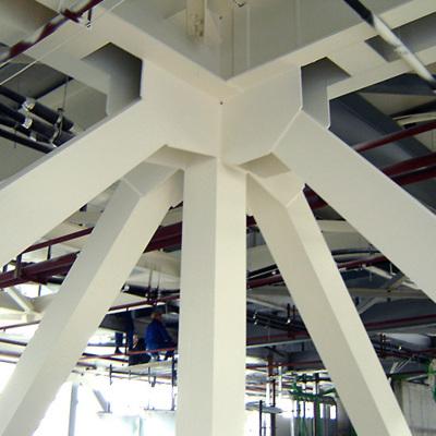 Sisteme de protecție la foc a structurilor metalice și din lemn